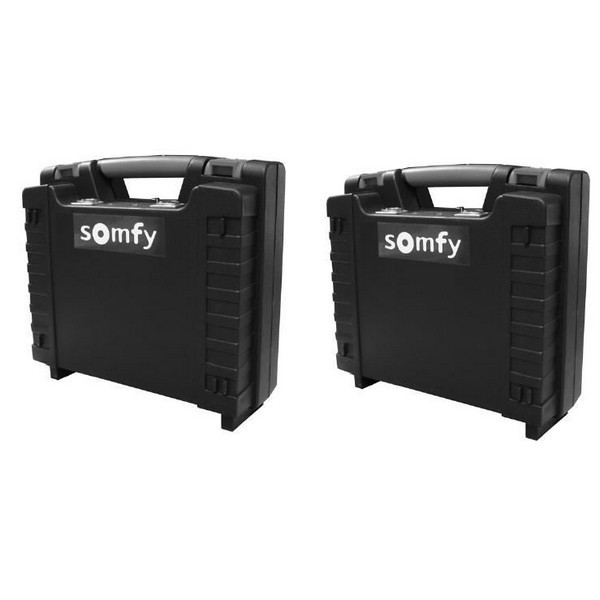 Kit batteries porte de garage et box souterrain SOLARSET PRO Somfy N'existe plus-SY9015858-Somfy