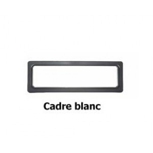 Hublot Rectangulaire 610 x 203 mm pour panel 40 mm **Couleur Blanc **-DO840211-