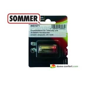 Pile Batterie CR 123 A SOMMER-SO204V000-