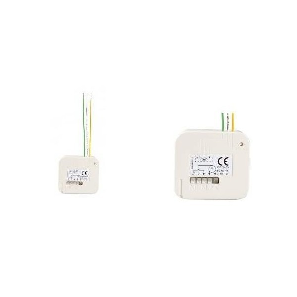 Micro récepteur volet roulant RTS Somfy - SY1811244 - COMPATIBLE SIMU-SY2401162-Somfy